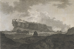 A view of the Fort of Gwalior